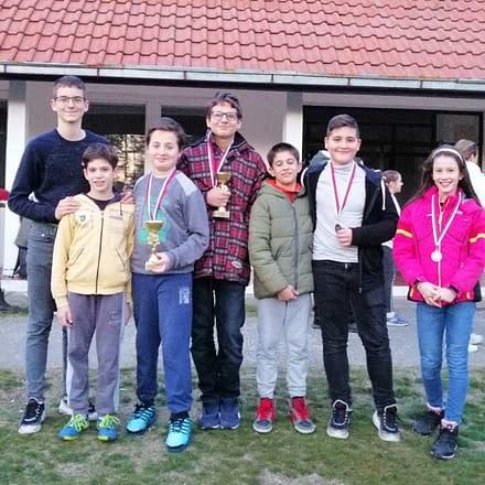 Kadetski rapid turnir Čardak 2020 i medalje za šahovski klub Bubamaru – od 22. do 23.  februara 2020.