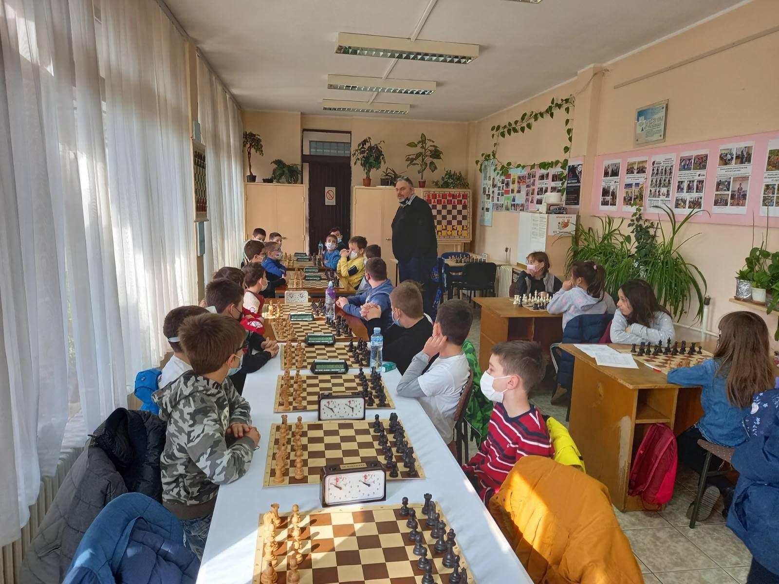 Održano Prvo Otvoreno dečije prvenstvo Novog Sada u ubrzanom šahu – 14.02.2021.