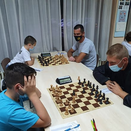 Drugo kolo novosadske šahovske lige donelo ŠK Bubamari prednost u odnosu na ŠK Čenejac 2 – 11.09.2020.