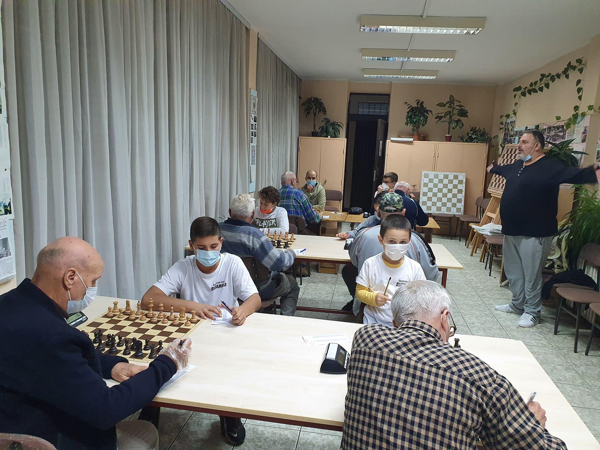 U 5. kolu novosadske šahovske lige ŠK Bubamara se susrela sa ŠK Penzioner iz Novog Sada – 02.10.2020.