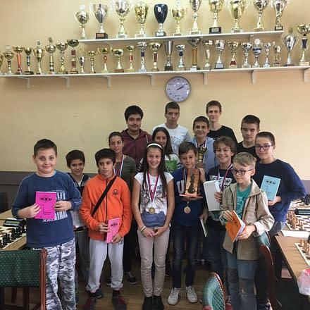 Bubamarci na dodeli nagrada na Omladinskom prvenstvu Novog Sada 2019 godine