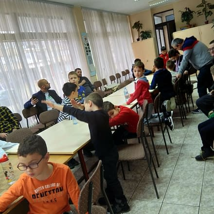 Novogodišnji turnir dečje škole šaha BUBAMARA