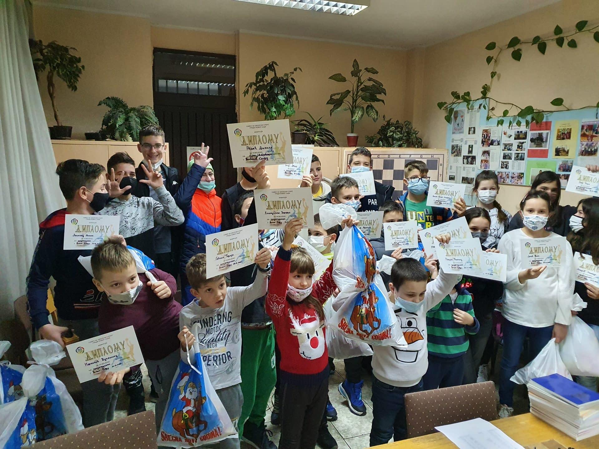 ŠK Bubamara ugostila ŠK Aljehin iz Pančeva 29.12.2020.