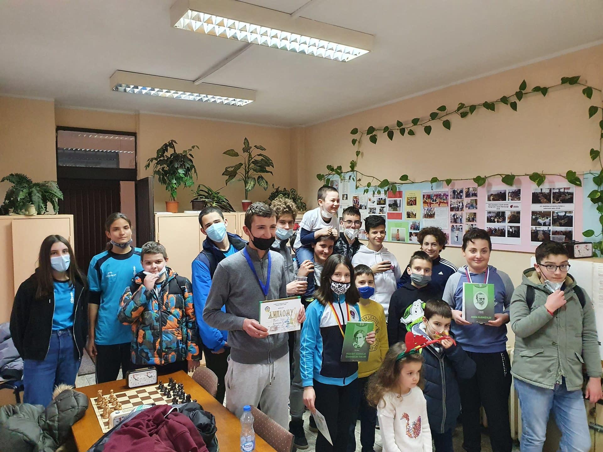 Organizovan turnir sa prijateljima iz beogradskih klubova ŠK Kralj i ŠK Vidikovac – 31.01.2021.